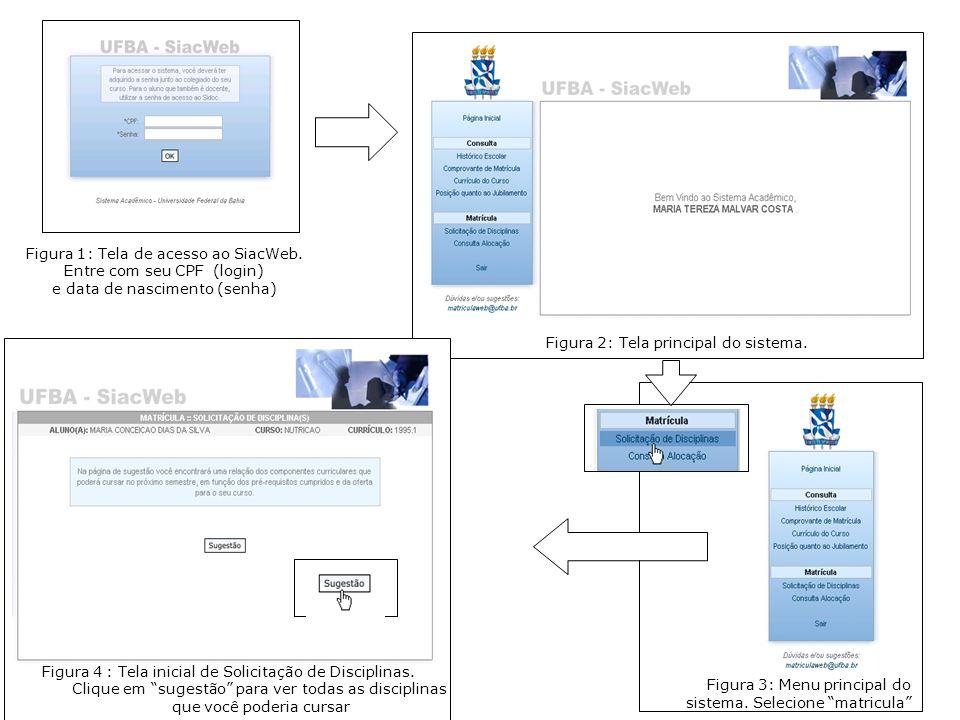 Figura 1: Tela de acesso ao SiacWeb.