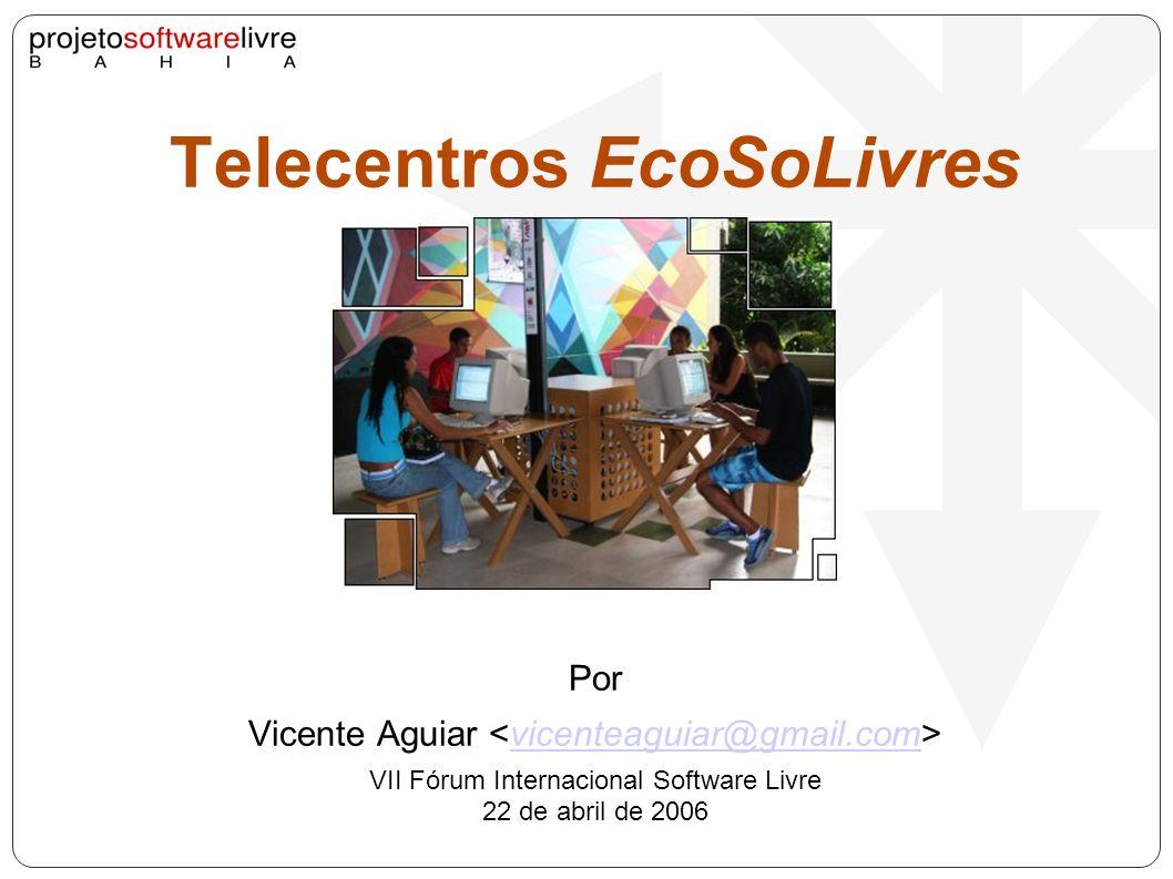 Referências Projeto Onda Solidária de Inclusão Digital http://www.bansol.ufba.br/twiki/bin/view/Bansol/OndaSolidariaInclusaoDigital http://www.bansol.ufba.br/twiki/bin/view/Bansol/OndaSolidariaInclusaoDigital Tabuleiros Digitais da FACED/ UFBA http://twiki.im.ufba.br/bin/view/Tabuleiro/ProjetoTabuleiroDigital http://twiki.im.ufba.br/bin/view/Tabuleiro/ProjetoTabuleiroDigital Projetos Bancos Comunitários do Instituto Banco Palmas e do BanSol da UFBA.