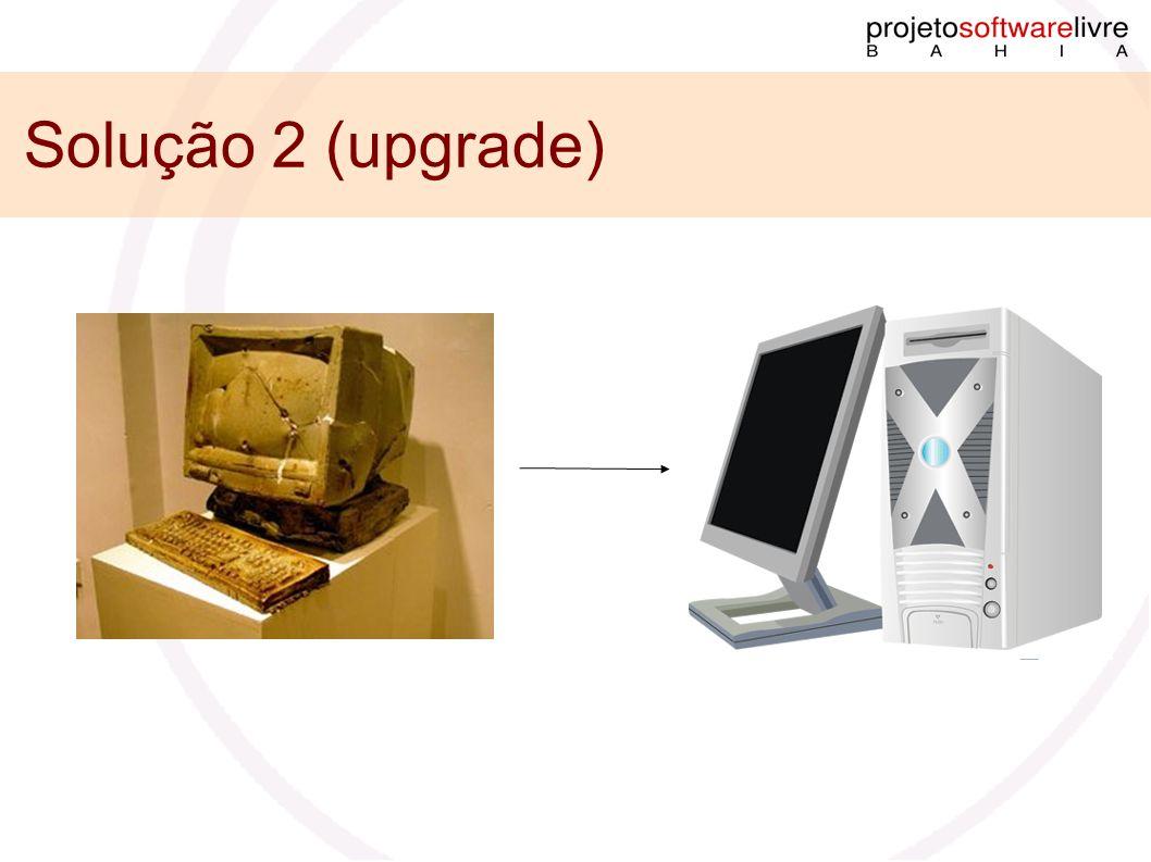 Solução 2 (upgrade)