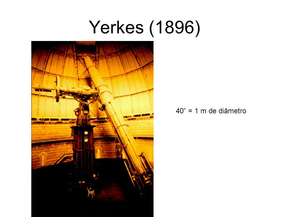 Yerkes (1896) 40 = 1 m de diâmetro