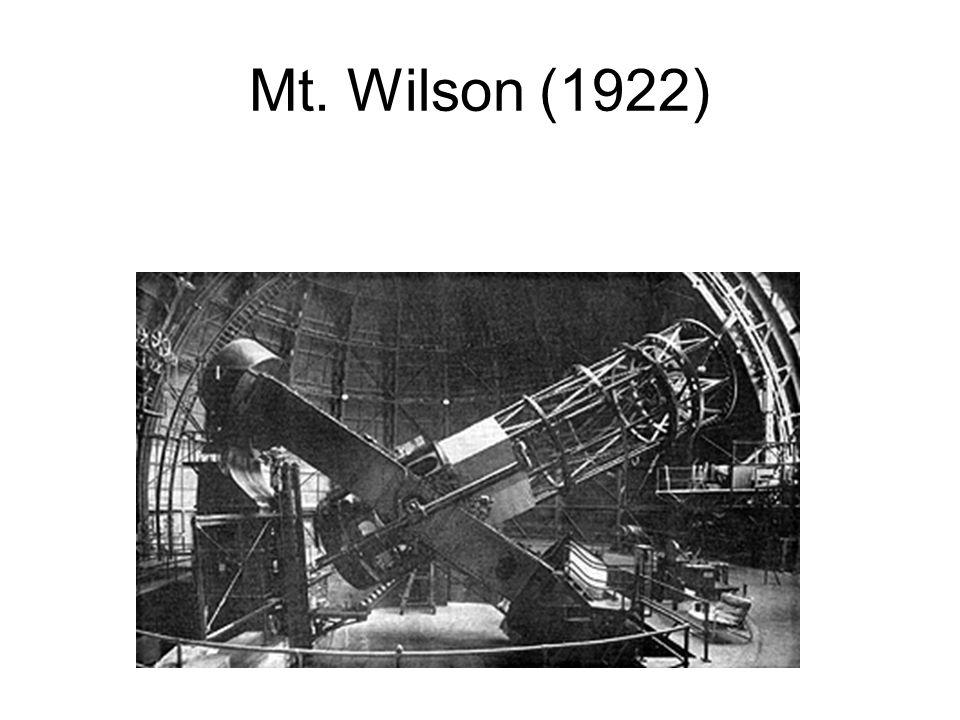 Mt. Wilson (1922)