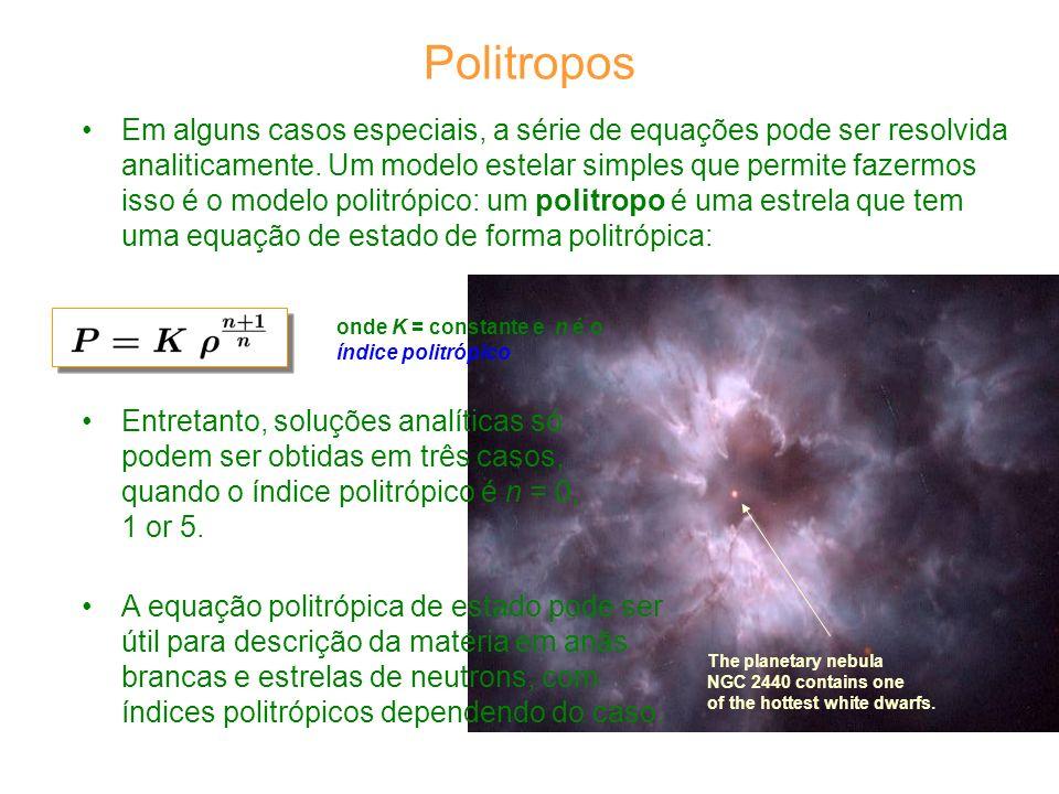 Em alguns casos especiais, a série de equações pode ser resolvida analiticamente.