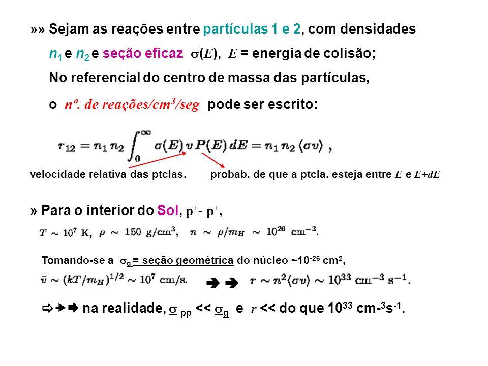» Em E T, a distribuição de ptclas.é a MB, e =m 1.
