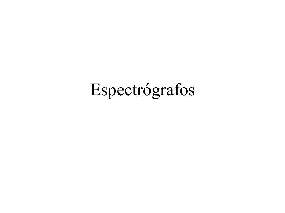 Espectrógrafos