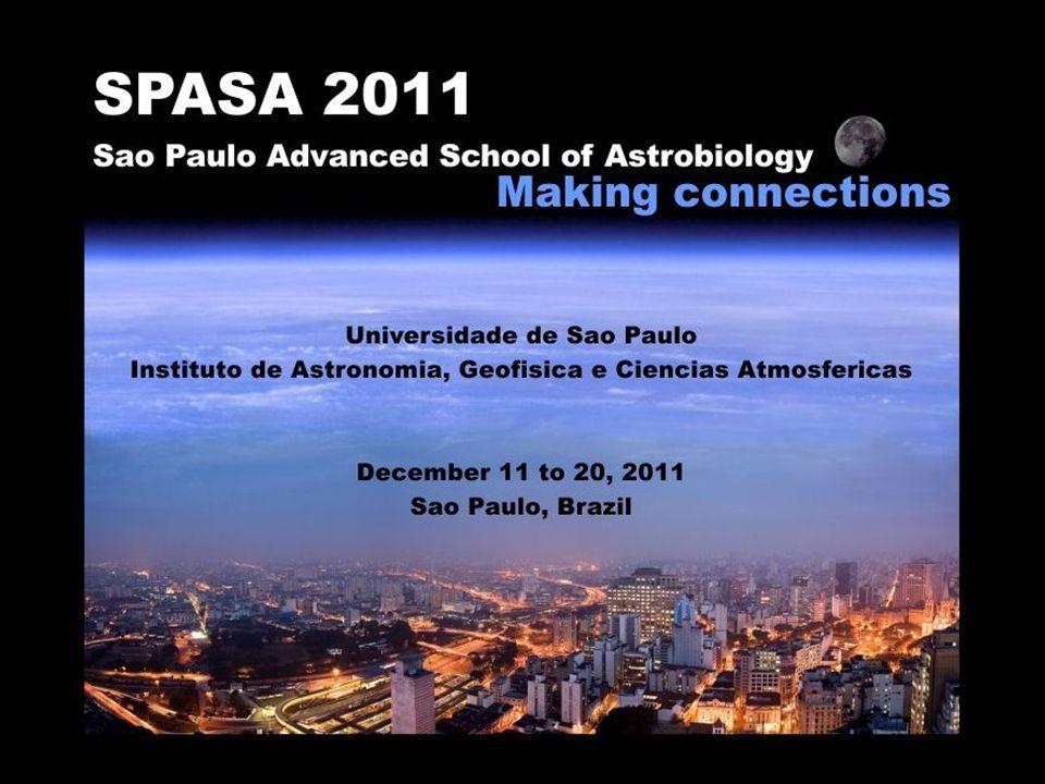 A Vida no Contexto Cósmico (disciplina AGA 0316 do IAG-USP) - Uma disciplina transdisciplinar Composição de cursos (2007) População: 100 alunos