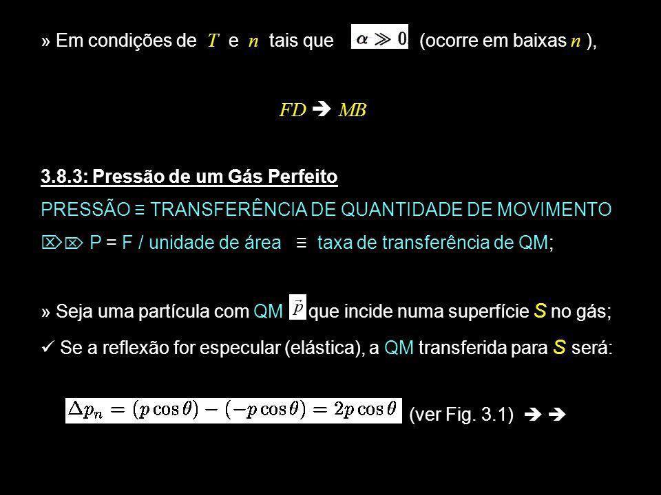 19 Fig.3.1 Seja o número de partículas com QM entre que incidem na superfície unitária/unid.