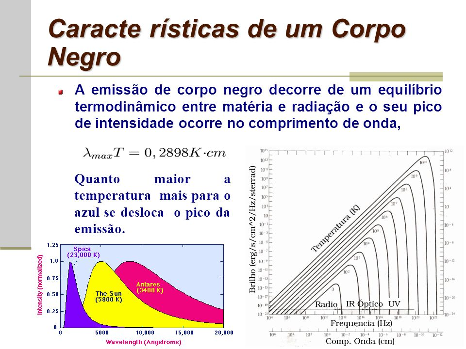 Origem da Radiação Cósmica de Fundo Em algum momento da evolução do Universo a matéria e a radiação estavam em equilíbrio termodinâmico, confirmando as idéias de Gamow.