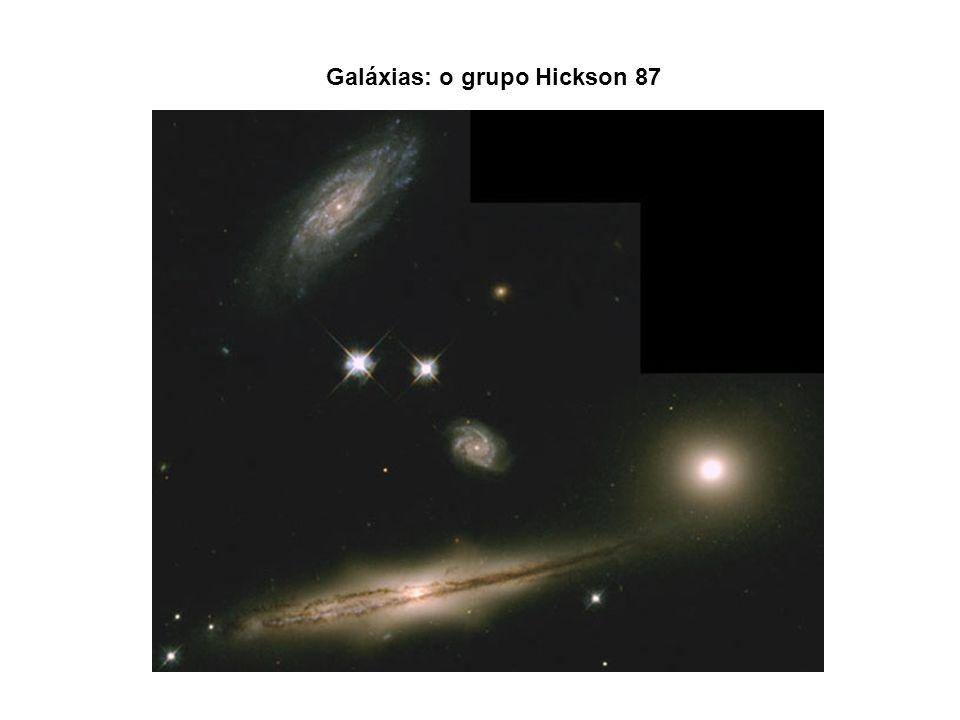 Galáxias: o grupo Hickson 87
