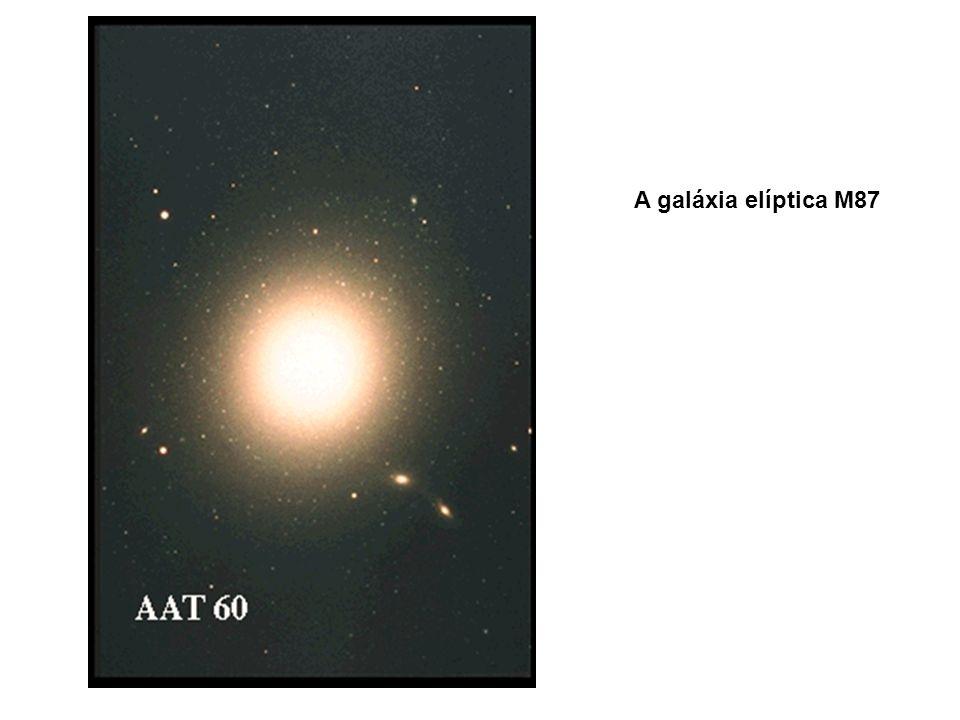 A galáxia elíptica M87
