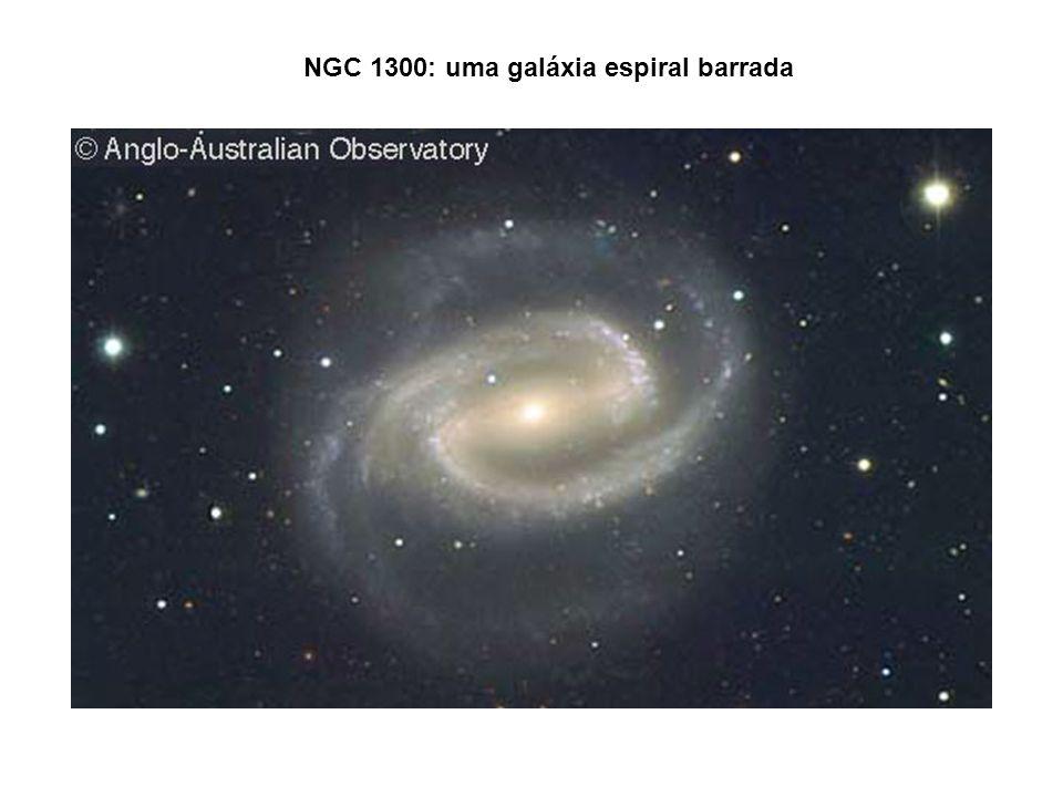 NGC 1300: uma galáxia espiral barrada