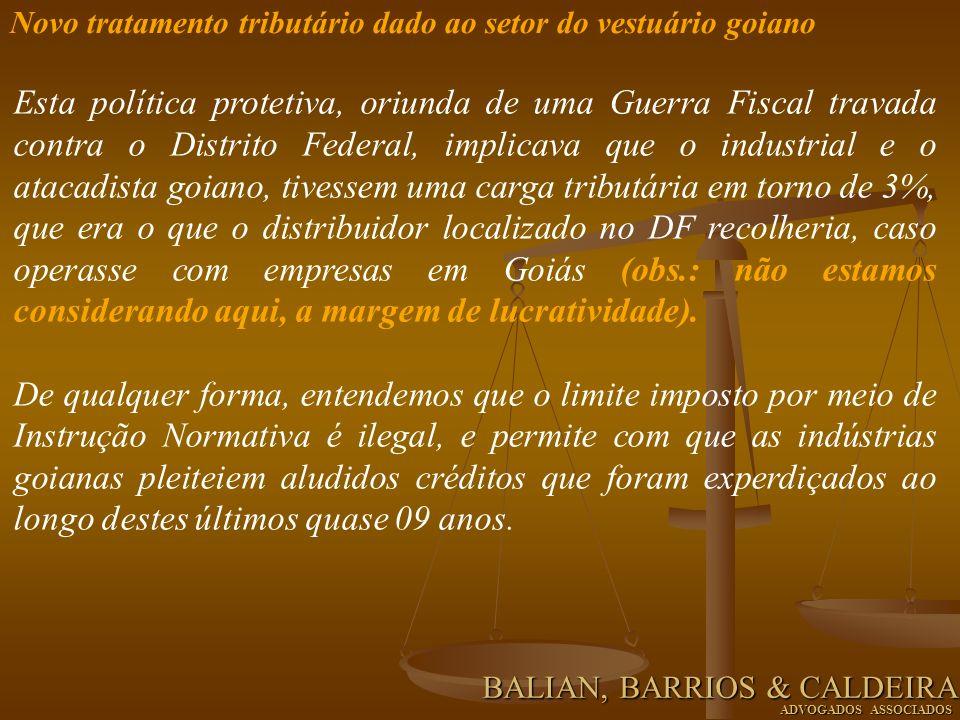Exemplo utilizando os incentivos fiscais constantes da Lei n.
