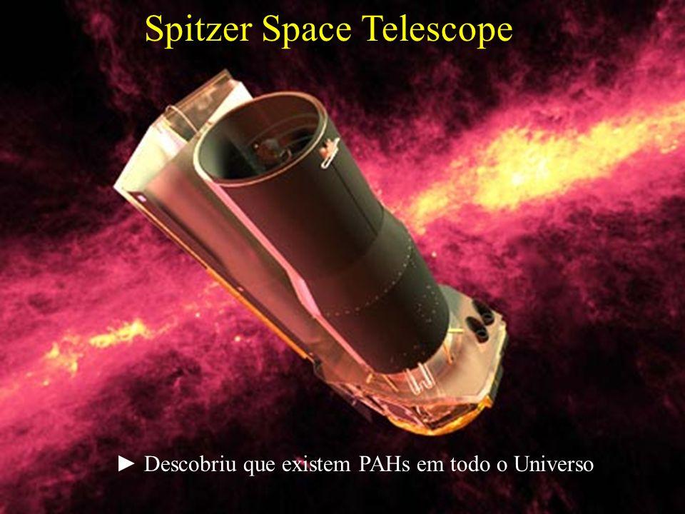 Spitzer Space Telescope Descobriu que existem PAHs em todo o Universo