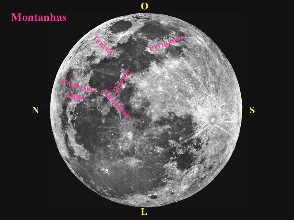 S L N O Pouso de naves espaciais + + + + Apollo 11 20/07/69 Apollo 17 14/12/72 Apollo 15 30/07/71 Apollo 14 04/02/71 Apollo 12 19/11/69