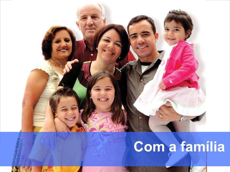 familia Com a família