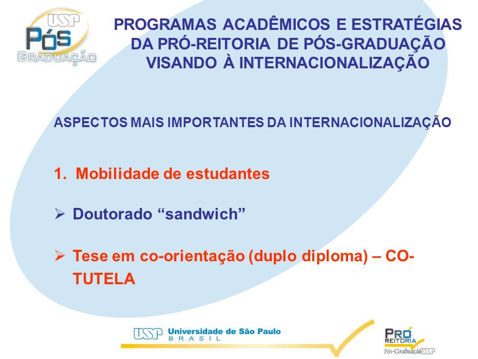 ASPECTOS MAIS IMPORTANTES DA INTERNACIONALIZAÇÃO 1.