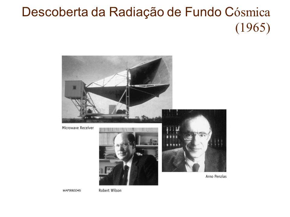 Descoberta da Radiação de Fundo C ósmica (1965)