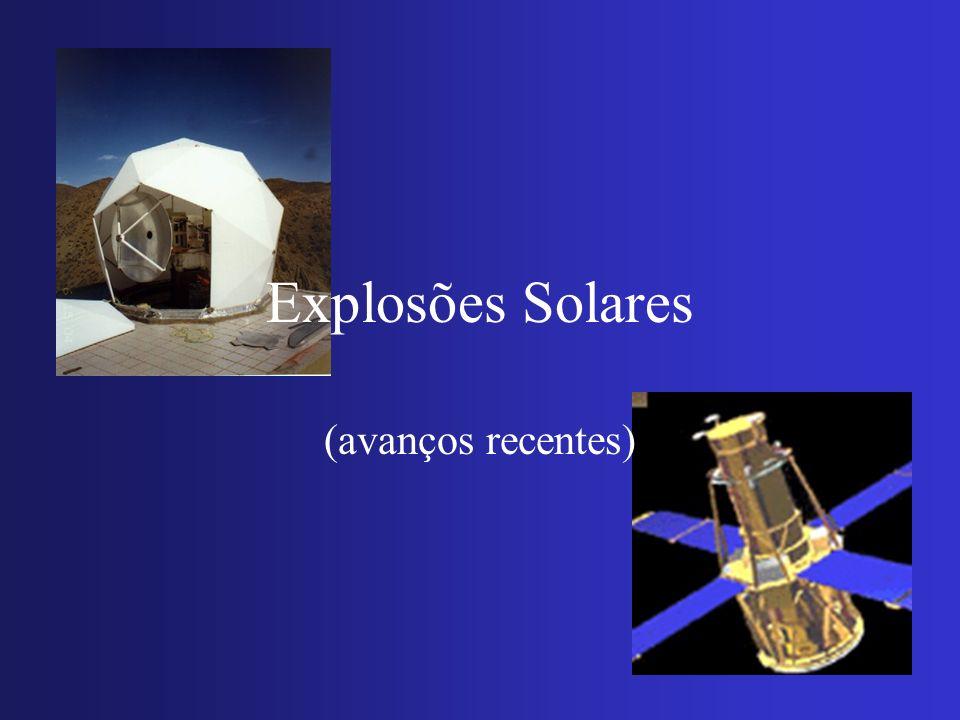 Explosões Solares (avanços recentes)