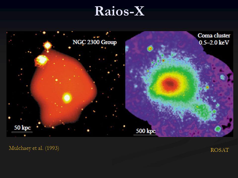 Candidatos MACHOs: eventos de microlentes ocorrem, mas não são suficientes para povoar todo o halo galáctico MACHOs: eventos de microlentes ocorrem, mas não são suficientes para povoar todo o halo galáctico Anãs marrons, brancas, são descartadas (Evans 2002) Anãs marrons, brancas, são descartadas (Evans 2002)