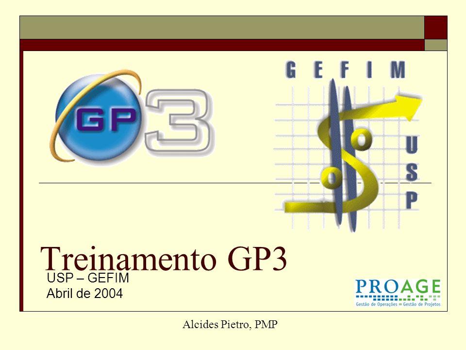Treinamento GP3 USP – GEFIM Abril de 2004 Alcides Pietro, PMP
