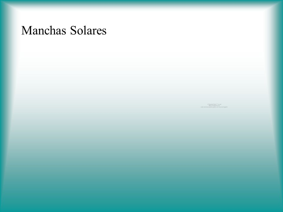 Manchas Solares