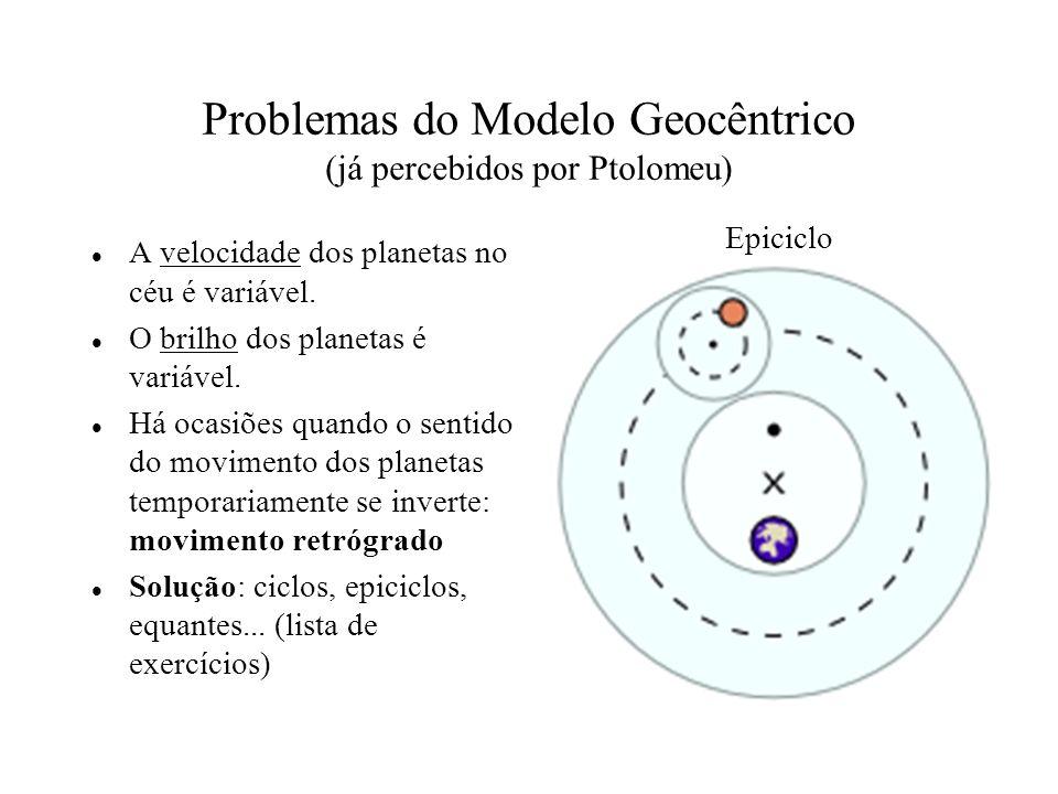 1 a Lei de Kepler Os planetas descrevem órbitas elípticas em torno do Sol, que ocupa um dos focos.