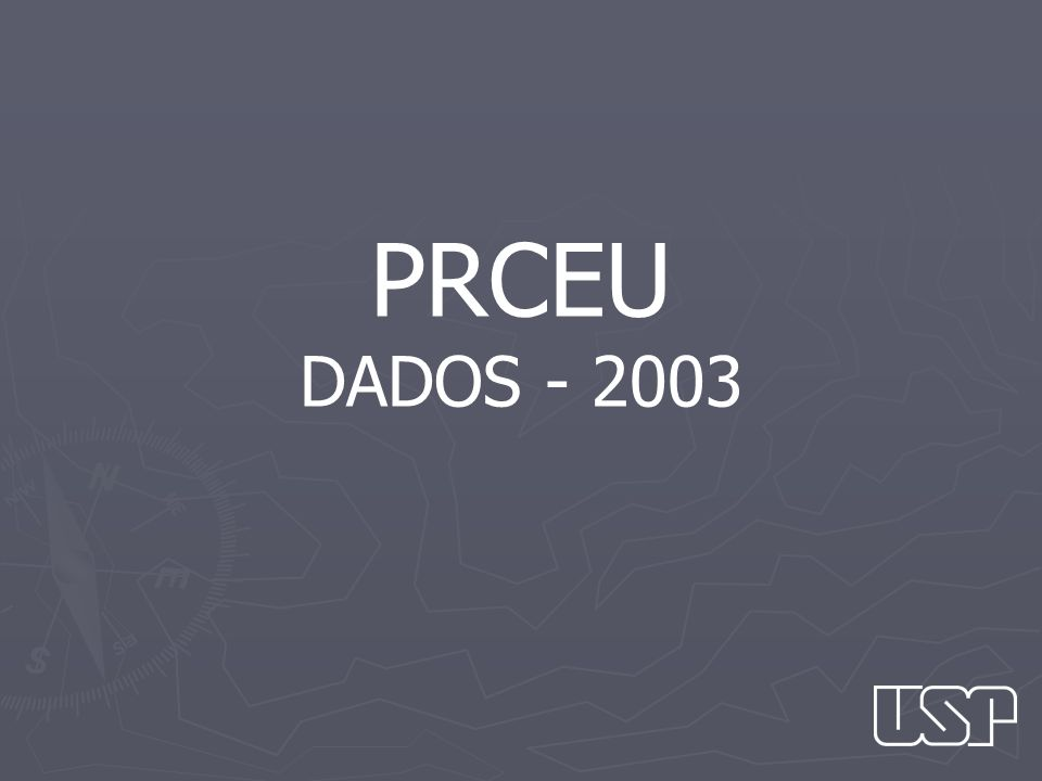 PRCEU DADOS - 2003
