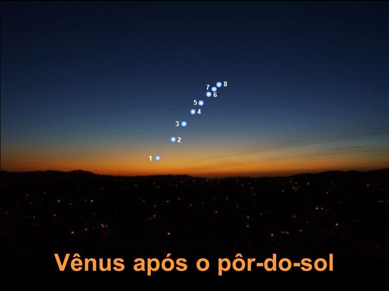 Vênus após o pôr-do-sol 1 2 3 4 5 6 7 8