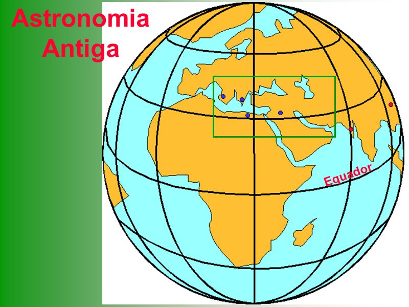 Ulugh Beg Catálogos estelares Alguns Astrônomos Famosos Ptolomeu Sistema Geocêntrico Hiparcos Distância Terra-Lua Eratóstenes Raio da terra Aristarco Processo p/ obter a distância até o Sol Aristóteles Geocentrismo filosófico Heráclides Sistema híbrido Pitágoras Terra esférica Kepler Raios orbitais Órbitas elípticas Galileu Uso do telescópio Tycho Brahe Excelente observador Copérnico Sistema Heliocêntrico Filolau Heliocentrismo religioso Tales Previsão de eclipse solar Platão Estrelas fixas na esfera e planetas errantes Eudoxo Geocentrismo Newton Mecânica Clássica 200400 1000 800 600 400200 1200 1400 1600 0 1800 2000 600