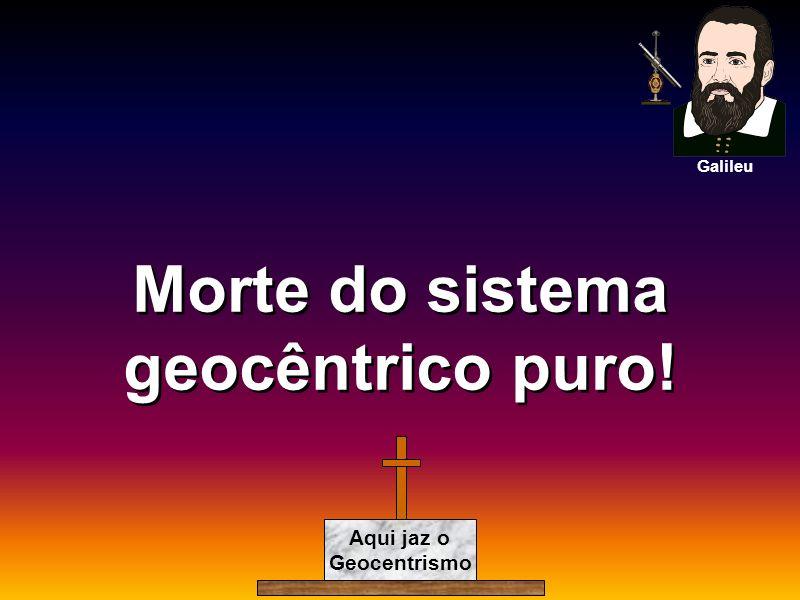 Morte do sistema geocêntrico puro! Aqui jaz o Geocentrismo Galileu