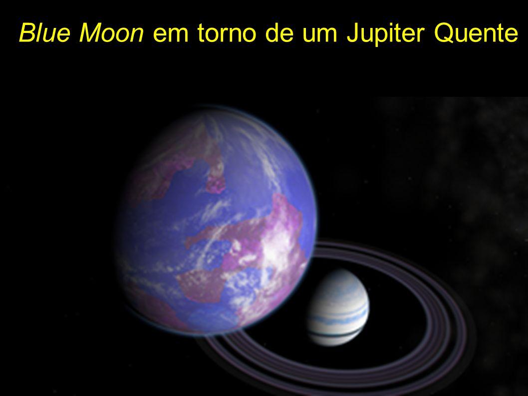 Blue Moon em torno de um Jupiter Quente