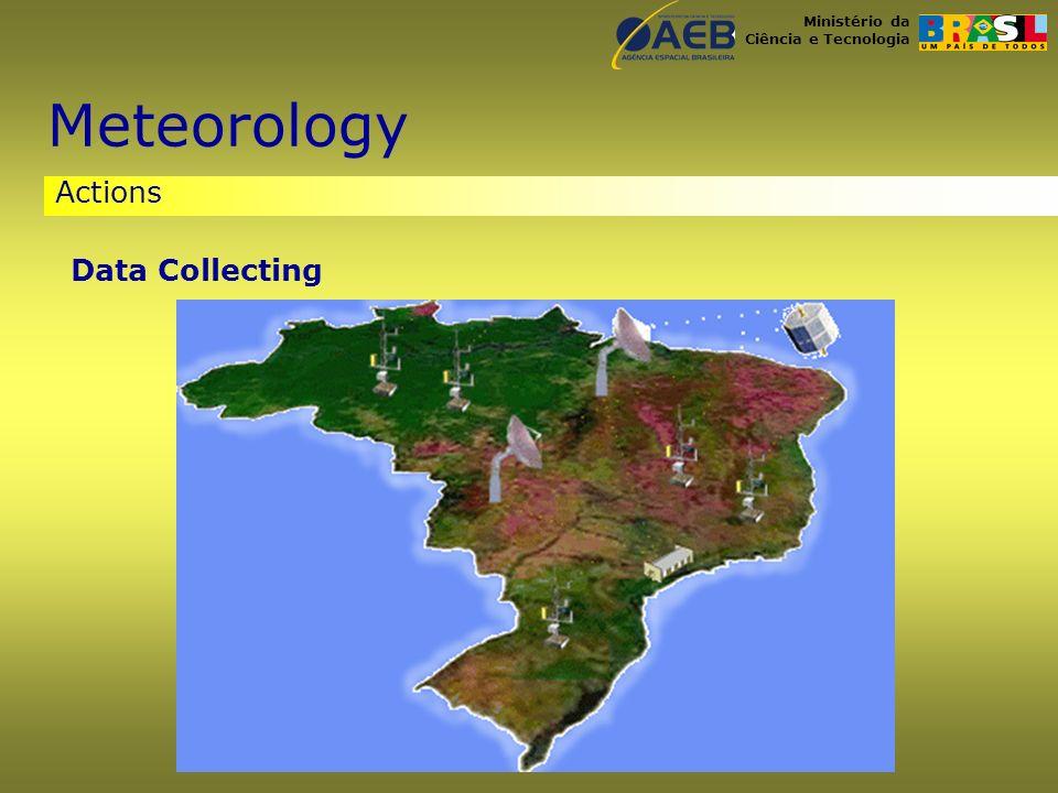 Ministério da Ciência e Tecnologia Actions Meteorology Data Collecting