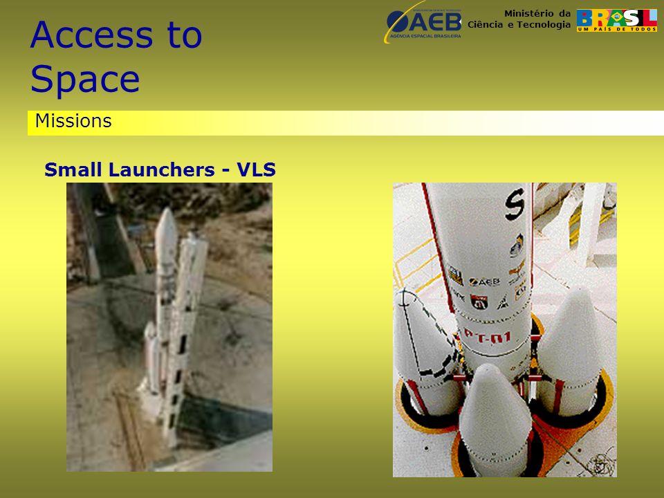 Ministério da Ciência e Tecnologia Missions Small Launchers - VLS Access to Space