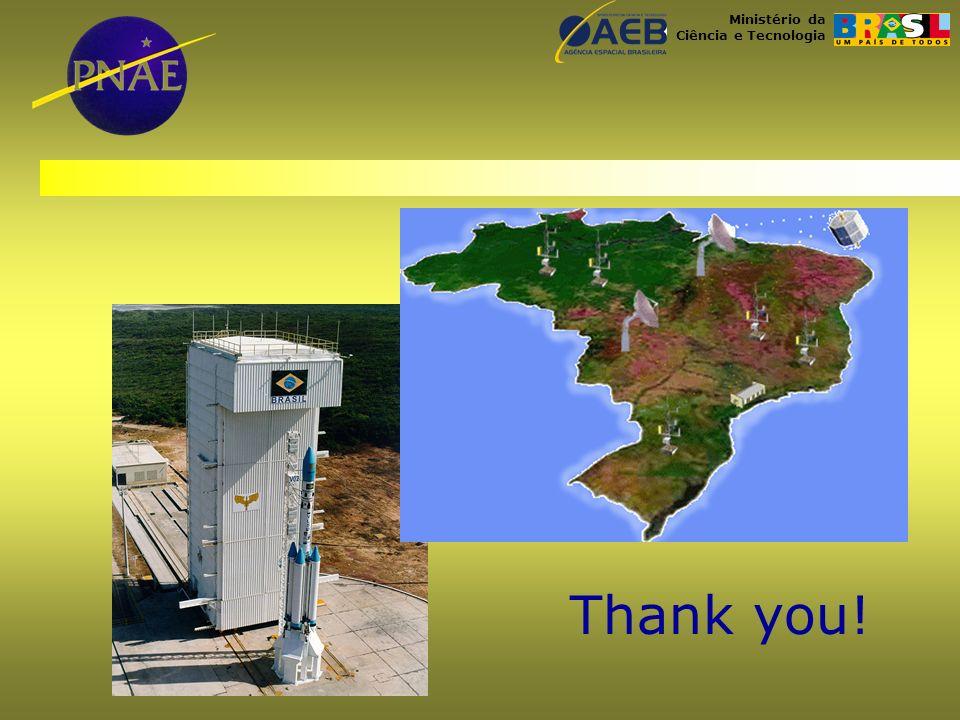 Ministério da Ciência e Tecnologia Thank you!