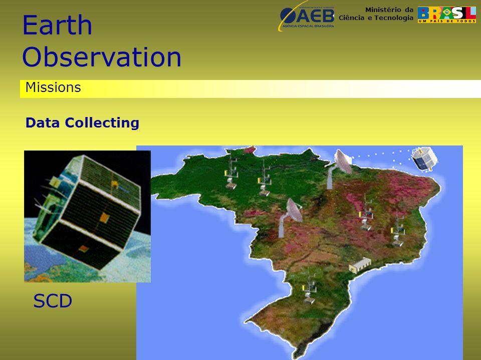 Ministério da Ciência e Tecnologia Missions Data Collecting SCD Earth Observation