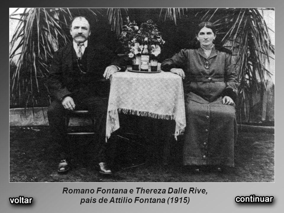Foto histórica do início da Sadia em 1944 Concórdia, SC