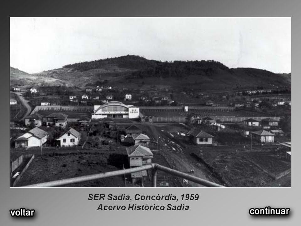 SER Sadia, Concórdia, 1959 Acervo Histórico Sadia