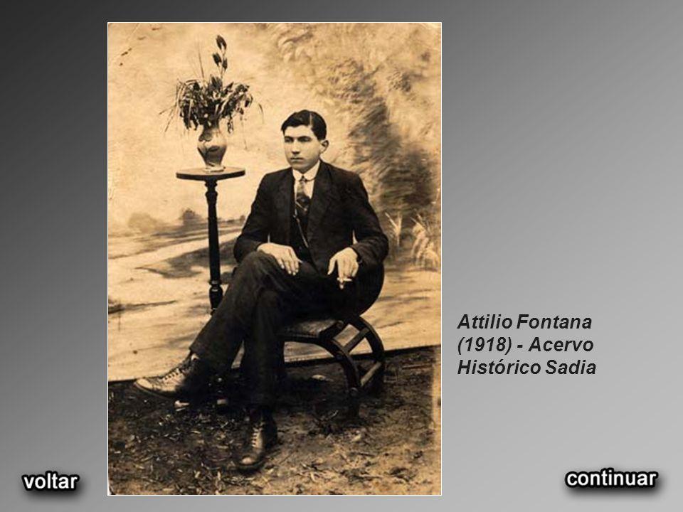 Attilio Fontana e filhos.