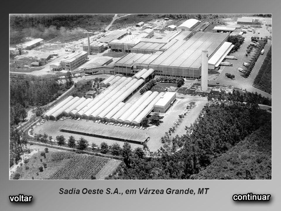 Sadia Oeste S.A., em Várzea Grande, MT