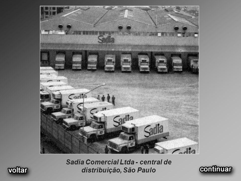 Sadia Comercial Ltda - central de distribuição, São Paulo
