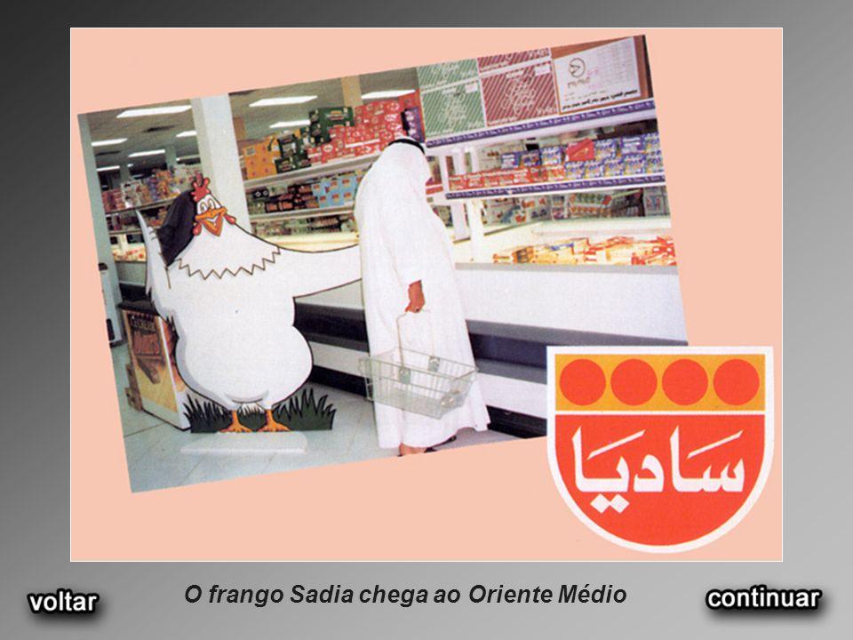 O frango Sadia chega ao Oriente Médio