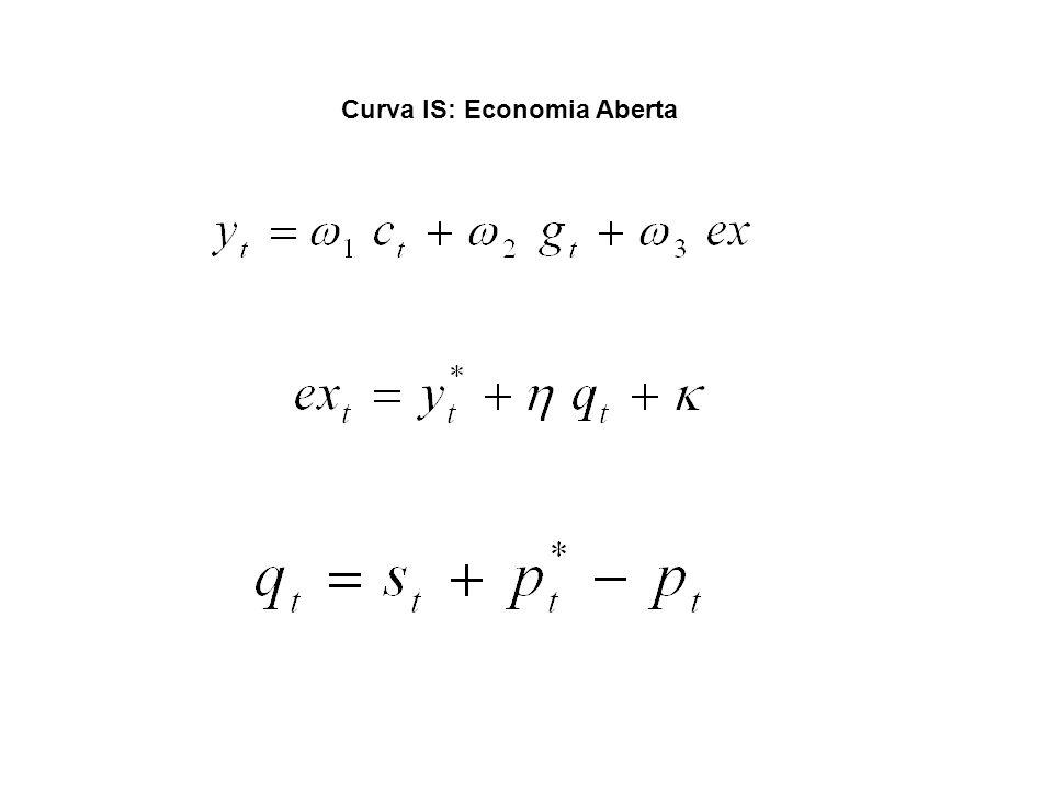 Curva IS: Economia Aberta