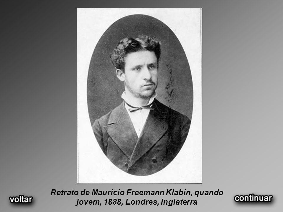 Retrato de Maurício Freemann Klabin, quando jovem, 1888, Londres, Inglaterra