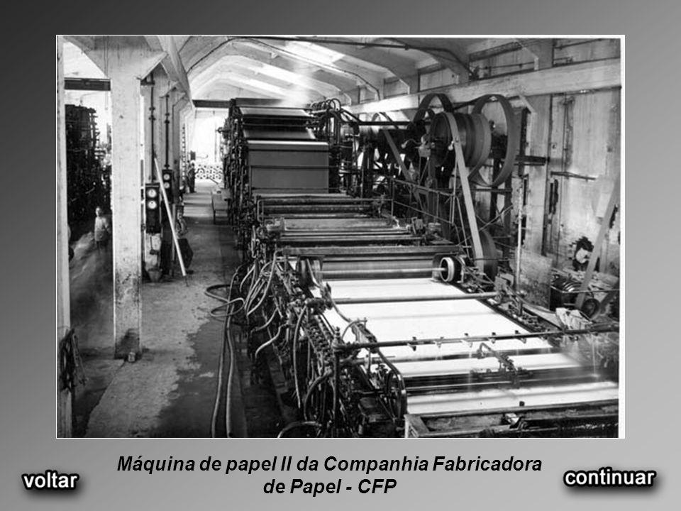 Máquina de papel II da Companhia Fabricadora de Papel - CFP