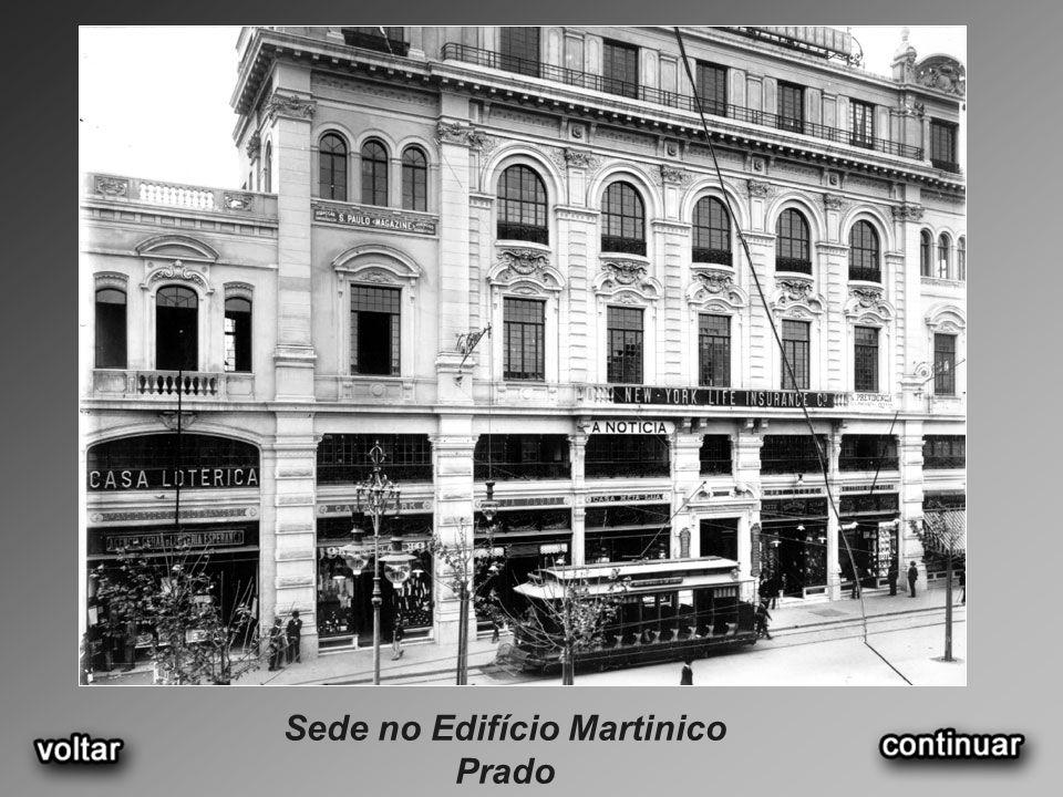 Sede no Edifício Martinico Prado