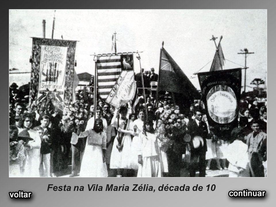 Festa na Vila Maria Zélia, década de 10