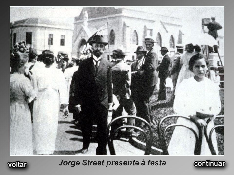 Jorge Street presente à festa
