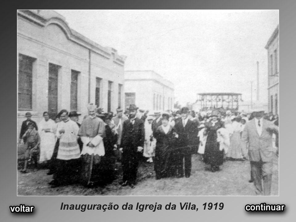 Inauguração da Igreja da Vila, 1919
