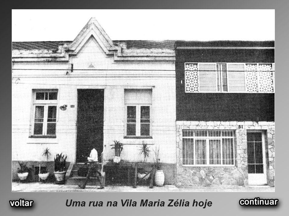Uma rua na Vila Maria Zélia hoje