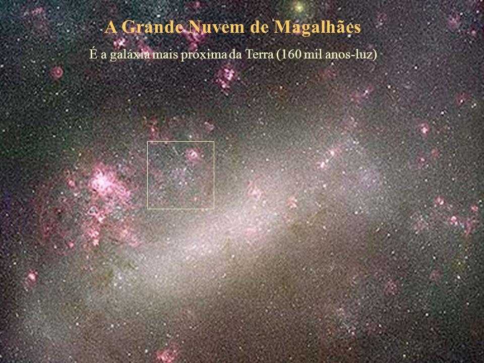 A Grande Nuvem de Magalhães É a galáxia mais próxima da Terra (160 mil anos-luz)