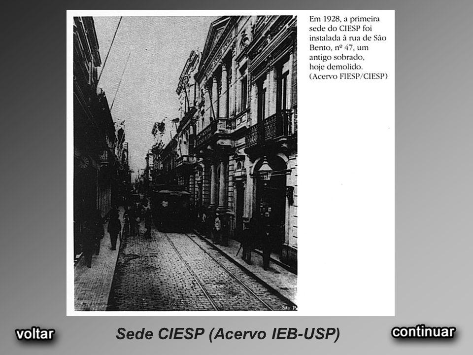 Sede CIESP (Acervo IEB-USP)